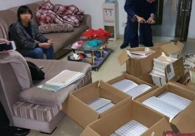 惠州破获一起假冒商标标识案 涉嫌假冒标识30万个