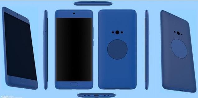 魅蓝X2为圆形背部副屏申请外观专利