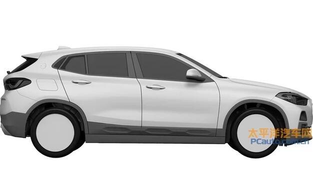 宝马X2外观专利申报图曝光 未来将有望国产