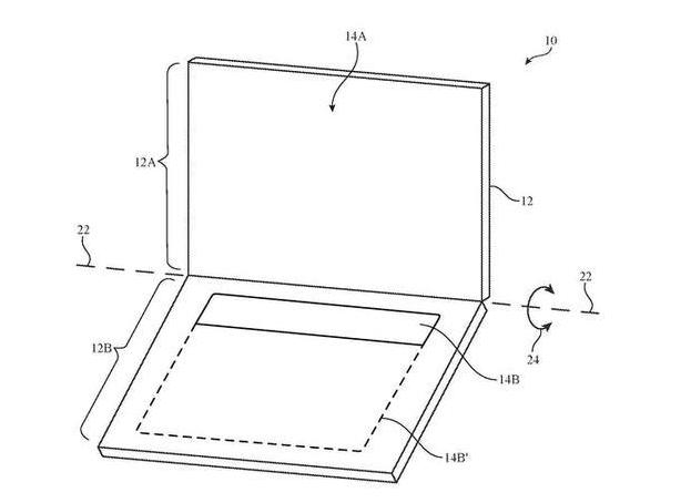 美国苹果公司26项新专利曝光,MacBook或将取消键盘
