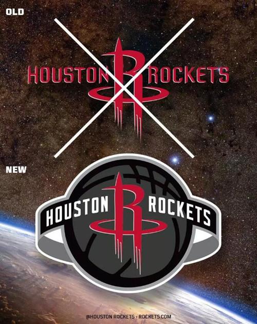 NBA火箭队公布新LOGO,一起看看球队LOGO演变史
