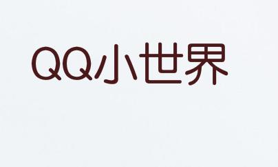 """""""QQ小世界""""目前状态""""申请中"""""""