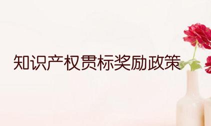 浙江省瑞安市知识产权贯标奖励政策,贯标奖励5万元!