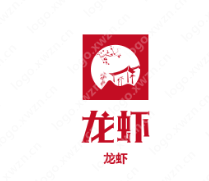 6个以龙虾为主题的创意Logo设计赏析