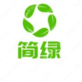 綠色生態行業:【簡綠】logo設計作品欣賞~簡單、無污染