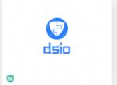 分享膠水logo怎么設計案例:dsio