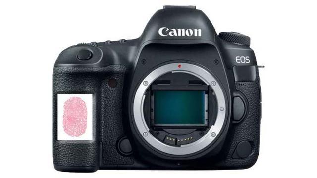 佳能申请数码相机指纹识别专利