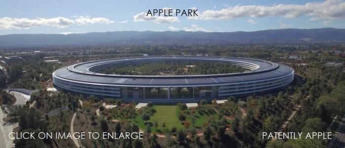 美国苹果公司抢注同心圆商标 代表新总部 Apple Park